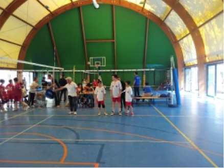 Roma Volley Academy Under 12 3×3, quattro punti sudati
