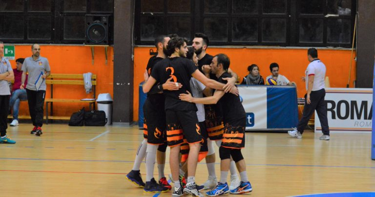 Roma Volley, che bis. Battuto S.Antioco in tre set