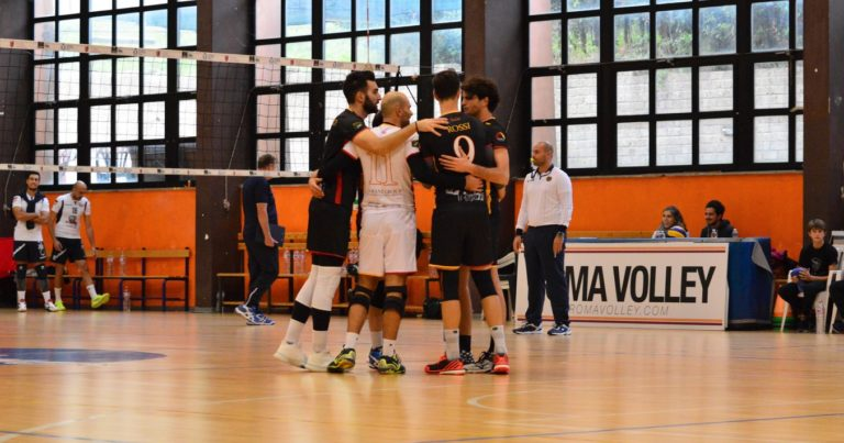Roma Volley, batte la Junior e vola in vetta in solitario
