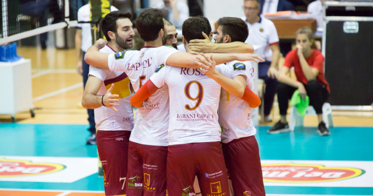Roma Volley Club inserita nel girone blu