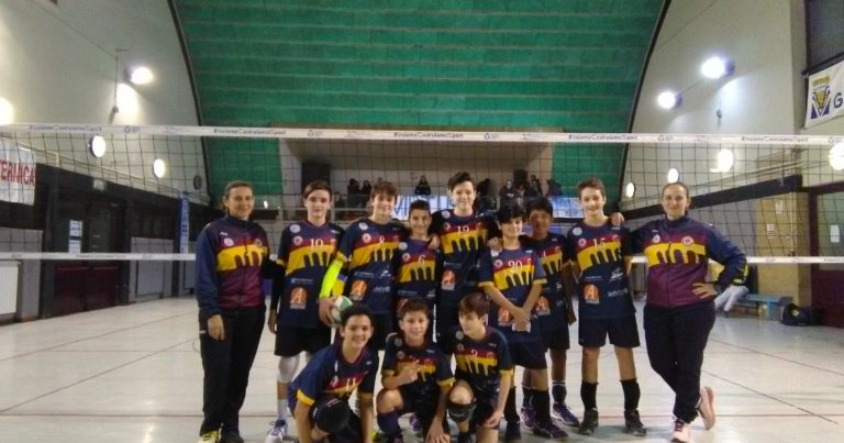 Under 14: Roma Volley, tre punti d'oro