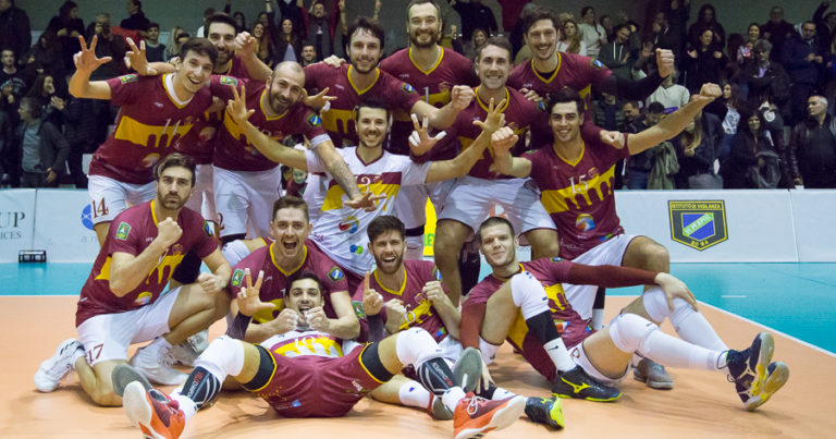 Roma Volley botti di fine anno