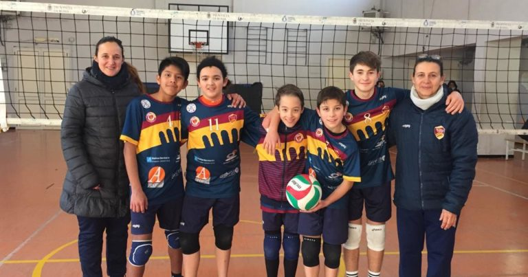 Under 13: Roma Volley Blu, girone vinto
