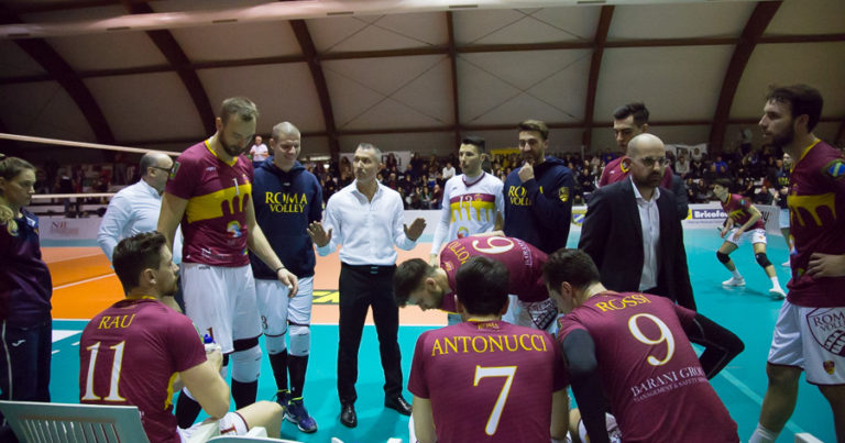 Roma Volley tutto per tutto