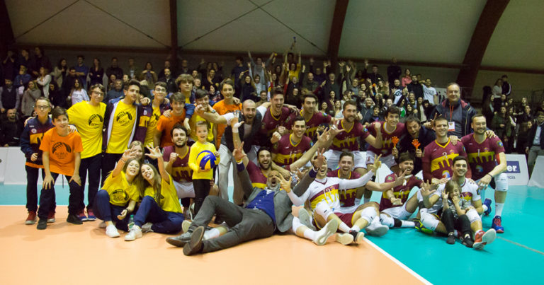 Roma Volley da sballo, si va alla bella