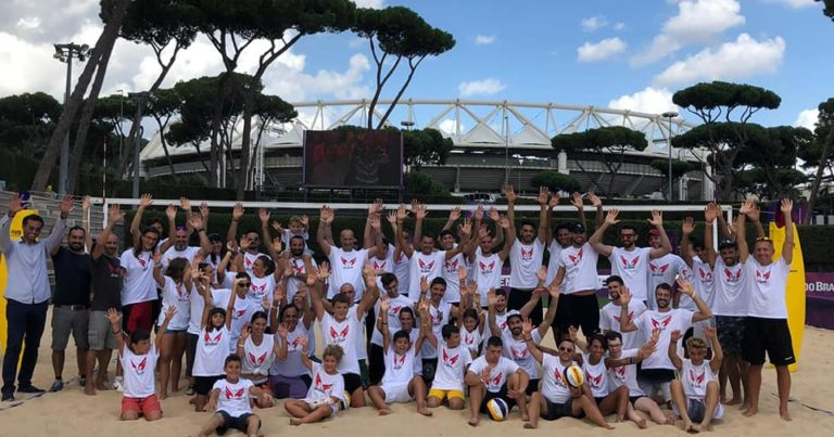 Roma Volley Club e We Beach al Foro Italico